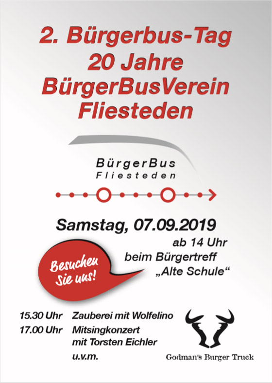 Buergerbustag 2019